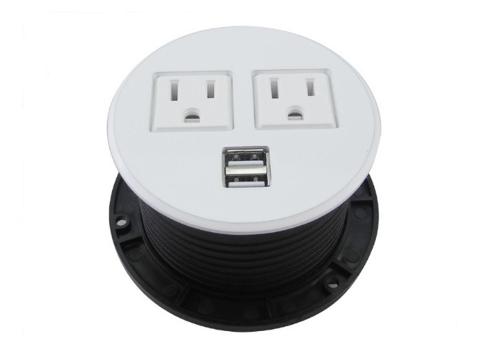 America Round Power Socket CE Certificate Compact Form HDMI Modules